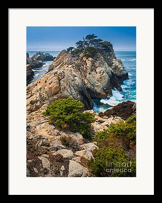 Point Lobos State Framed Prints