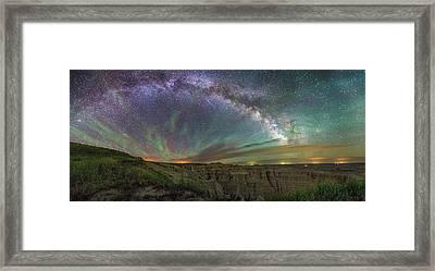 Pinnacles  Framed Print