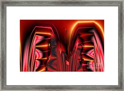 Pinned Framed Print by Ron Bissett