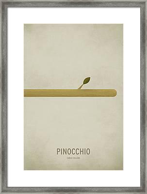 Pinocchio Framed Print