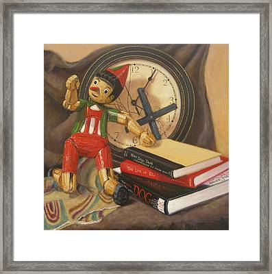 Pinocchio Framed Print by Donelli  DiMaria
