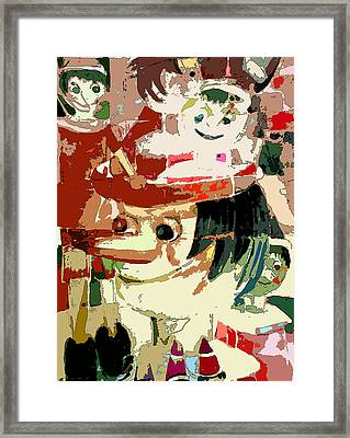 Pinocchio Framed Print by Mindy Newman