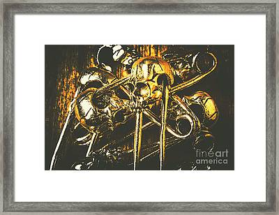 Pins Of Horror Fashion Framed Print by Jorgo Photography - Wall Art Gallery
