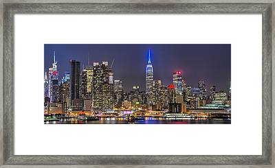 Pinstripes Framed Print
