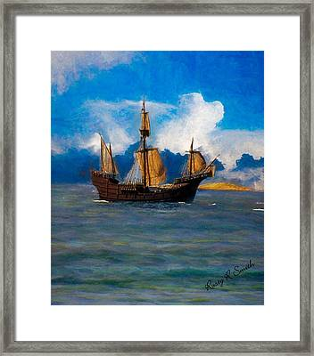 Pinta Replica Framed Print