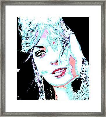 Pinup Love Framed Print by Tbone Oliver