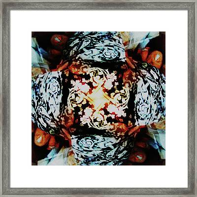 Pinwheel II Framed Print by Kristin Sharpe