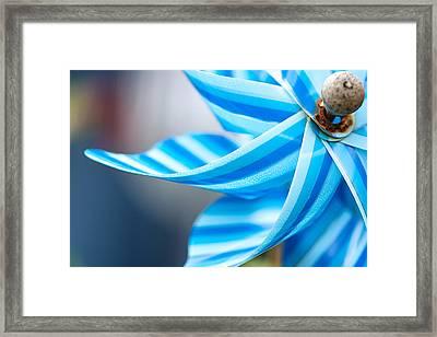 Pinwheel Framed Print