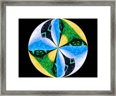 Pinwheel Framed Print by Patric Carter