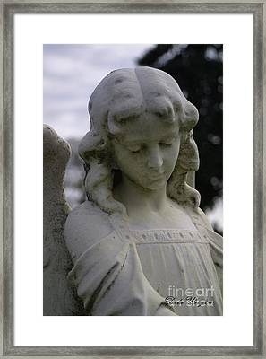 Framed Print featuring the photograph Pioneer Angel by Dodie Ulery