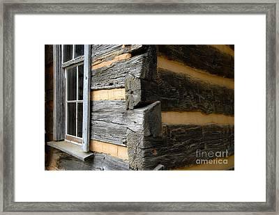 Pioneer Craftsmanship Framed Print