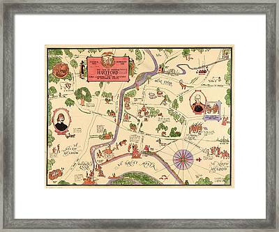 Pioneer Hartford Connecticut Framed Print by Mountain Dreams