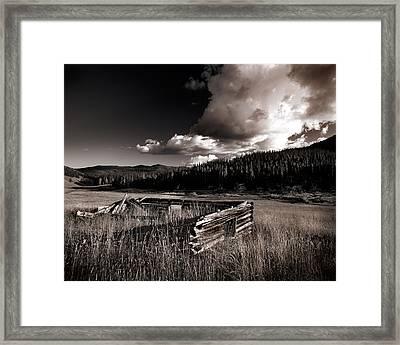 Pioneer History Framed Print