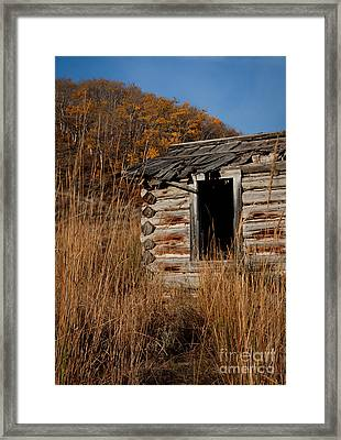 Pioneer Homestead Framed Print by Idaho Scenic Images Linda Lantzy