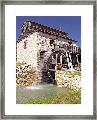 Pioneer Series 4 Framed Print by Steve Ohlsen