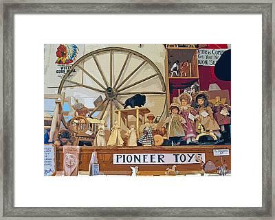 Pioneer Series 5 Framed Print by Steve Ohlsen