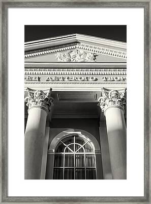 Russian Pioneers Palace Framed Print