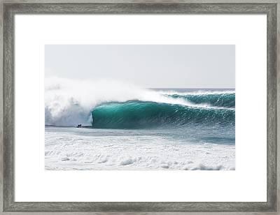 Pipe Balance Framed Print