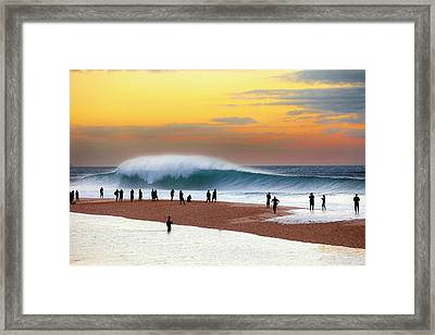 Pipe Dream Framed Print by Sean Davey