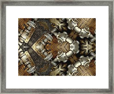 Pipe Dreams Framed Print by Wendy J St Christopher