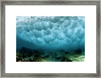 Pipe Mammatus Framed Print by Sean Davey
