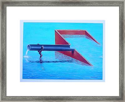 Pipe-ub Framed Print by Joe Santana