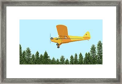 Piper Cub Piper J3 Framed Print