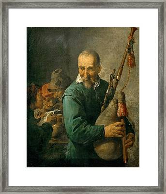 Piper Framed Print by Celestial Images