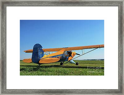 Piper Pa-11 Framed Print
