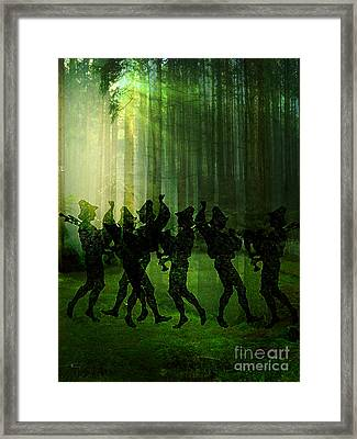 Pipers Framed Print by Tammera Malicki-Wong