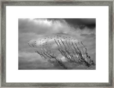 Pir March 2014 Flyover Framed Print by A O Tucker