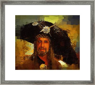 Pirate Framed Print by Clarence Alford