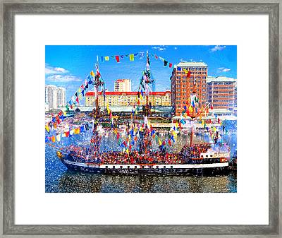 Pirate Colors Framed Print