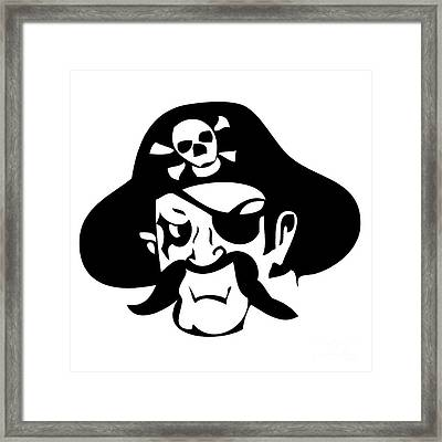 Pirate Framed Print by Frederick Holiday