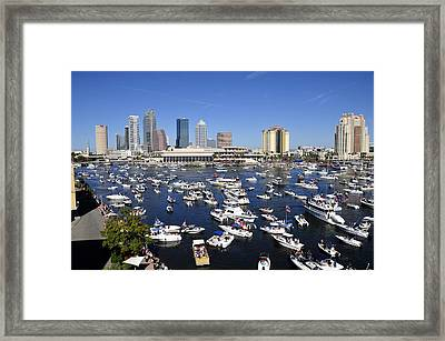 Pirate Invasion 2012 Framed Print by David Lee Thompson