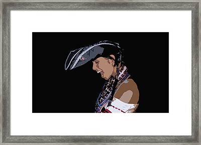 Pirate Lady Framed Print by David Lee Thompson