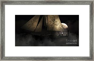 Pirate Ship Framed Print by Jorgo Photography - Wall Art Gallery
