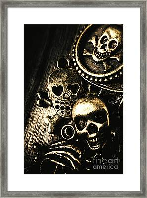 Framed Print featuring the photograph Pirate Treasure by Jorgo Photography - Wall Art Gallery