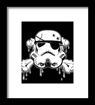 Skull Framed Prints