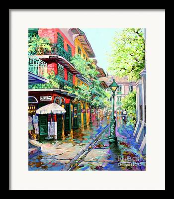 French Quarter Framed Prints