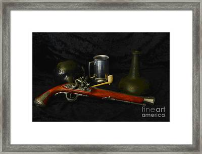 Pirates And Their Vices Framed Print by Paul Ward