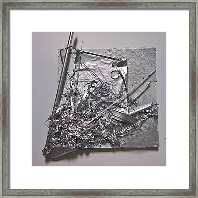 Pirate's Botty Framed Print