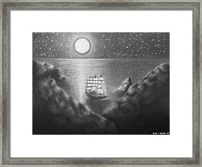 Pirates' Cove Framed Print by Nicole I Hamilton