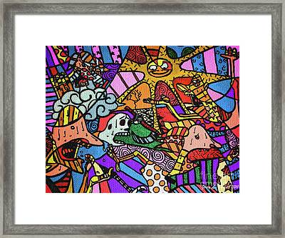 Pirates Framed Print by Jerry L Barrett