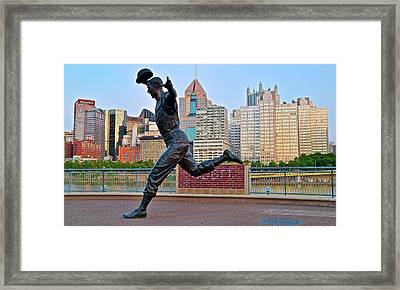 Pirates Legend And City Framed Print