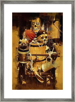 Pirates Loot Framed Print by Clarence Alford