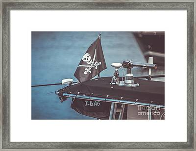 Pirates Of Gloucester Framed Print by Claudia M Photography