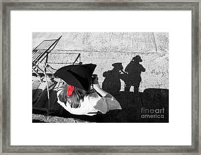 Pirate's Shadows Framed Print