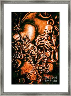 Pirates Treasure Box Framed Print