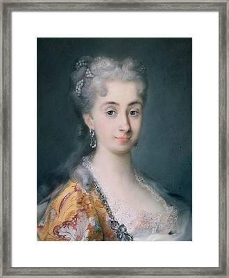 Pisana Mocenigo Framed Print by Rosalba Carriera